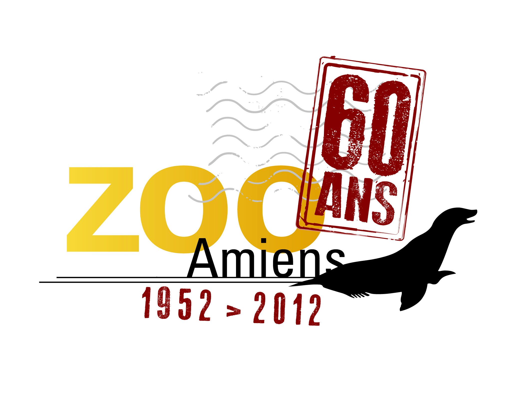 logo zoo 60 ans OK