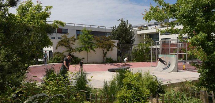 Courbevoie - skatepark